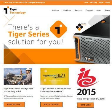 Tiger-Technology-website-development-by-Ardent